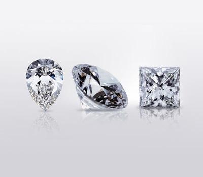 Diamants blancs d'investissement