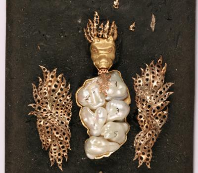 Maquette du Dragon Joaillerie Buccellati