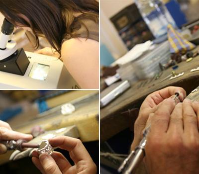 Joaillier créateur : création d'un bijou sur-mesure