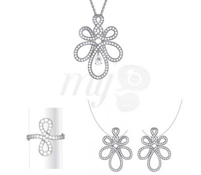 Parure Ardente Diamants - Lalique Joaillerie 2012