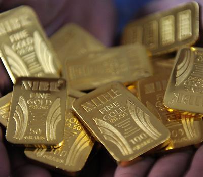 Vente de lingots d'or dans le monde