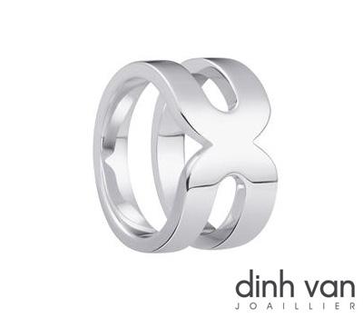 Bague en argent Maillon de Dinh Van