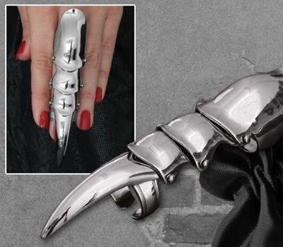 Bague armure de doigt pour femme de Bellandy