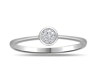 Bague diamant or blanc pas cher