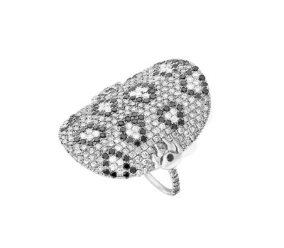Bague Caresse Diamants - Lisonia Joaillerie Paris