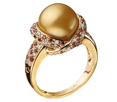 Bague or jaune perle gold de Mauboussin