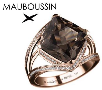 Bague or rose de Mauboussin
