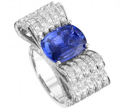 Bague tanzanite et diamants de Piaget