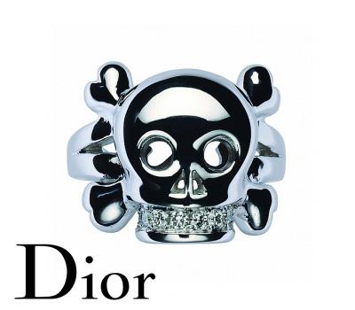 Bague tête de mort de Dior joaillerie