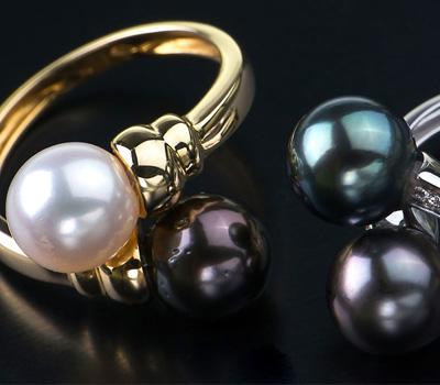Bagues perles en vente privée à pas cher