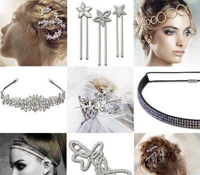 bijoux de cheveux originaux