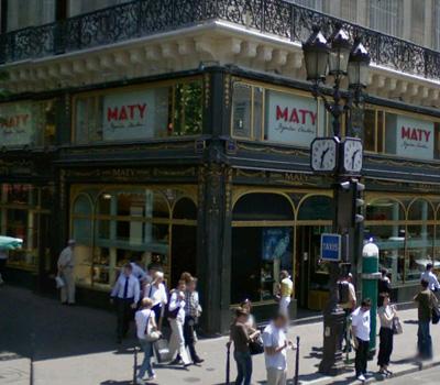 Bijouterie Maty à Paris