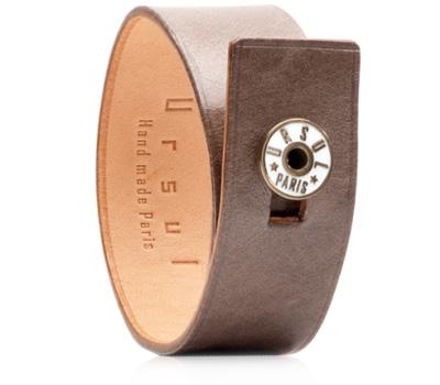 Bracelet en cuir pour homme de Ursul Paris