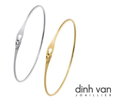 Bracelet jonc en or de Dinh Van