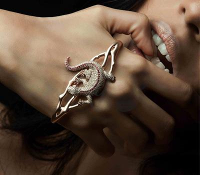 Bracelet de Main Iguane - Prive Jewellery