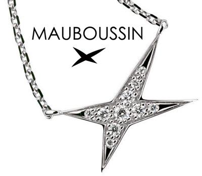 Collier en or blanc et diamants de Mauboussin