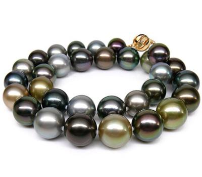 Collier de perles noires prix