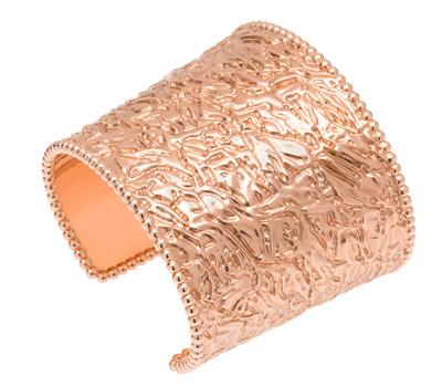 Bracelet Manchette Perlée Van Cleef & Arpels
