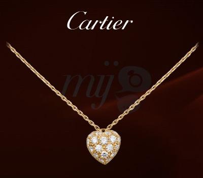 Pendentif Coeur Diamants - Cartier Joaillerie