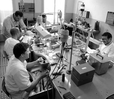 Atelier de la bijouterie Prieur à Nantes