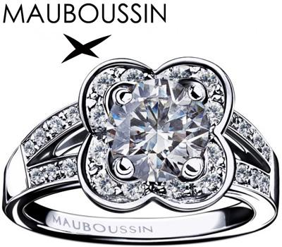 Bague Chance Of Love 1 carat de Mauboussin