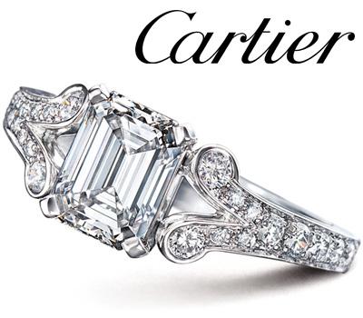 Bague de fiançailles Ballerine en diamants de Cartier