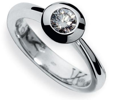 Bague de fiançailles diamant du joaillier Korloff