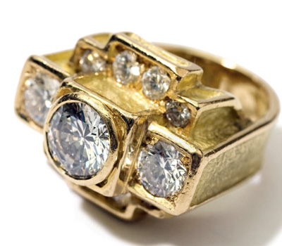 Bague New York Diamant - Hélène Courtaigne Delalande