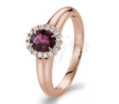 Bague Perrine Rubis - 21Diamonds