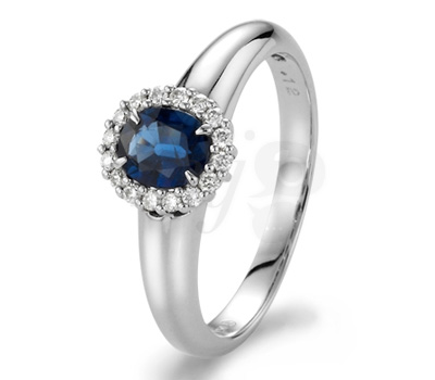 Bague Perrine Saphir - 21Diamonds