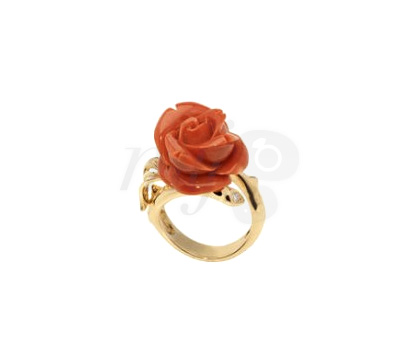 Bague Rose Corail - Dior Joaillerie
