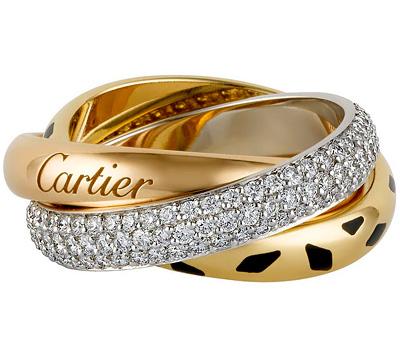 Bague trois anneaux Trinity de Cartier