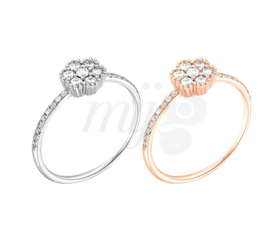 Bagues Lily Rose - Lisonia Joaillerie
