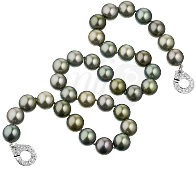 Collier Perles de Tahiti Menottes - Dinh Van