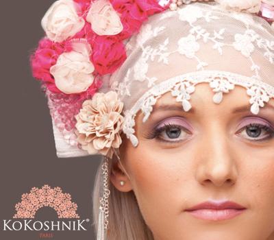 Bijou Russe Kokoshnik - Monika Ganéa