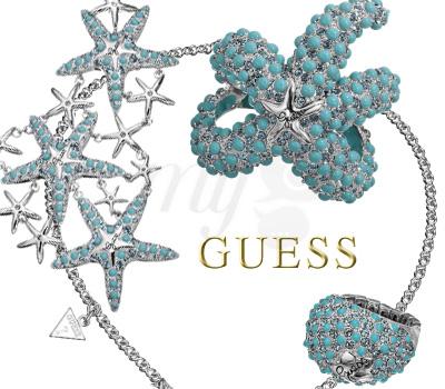 Bijoux Turquoise Aqua - Guess Été 2012