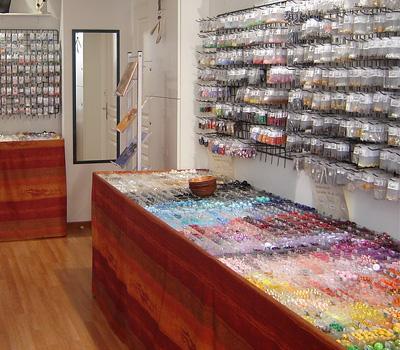 Boutique pour l'achat de perles