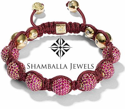 Bracelet boule et diamants de Shamballa Jewels