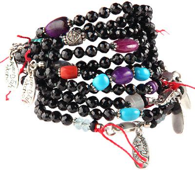 Bracelet boules hommes de Aaron Jah Stone bijoux