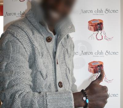 Bracelet Boules Aaron Jah Stone par Omar Sy