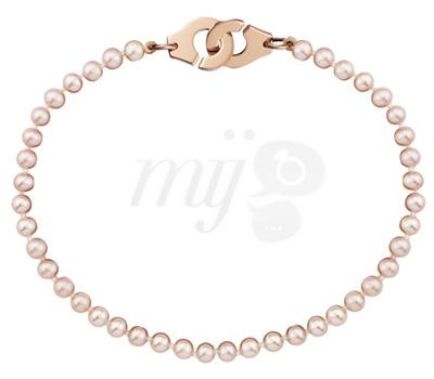Bracelet Perles d'Eau Douce Menottes - Dinh Van