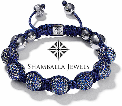 Bracelet Shamballa Jewels bleu vértitable