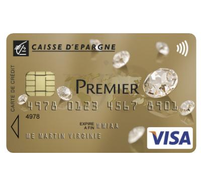 Carte Bancaire Visa Premier Swarovski - Caisse d'Épargne