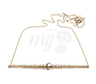 Collier Diamants Champagne - A Fine Jewel