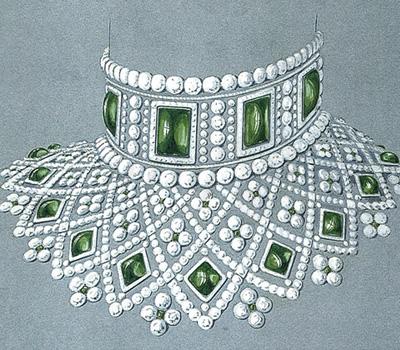 Gouaché Collier Romanov - Fabergé Joaillerie