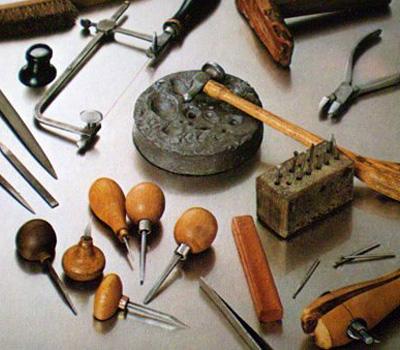 Outils du joaillier créateur - joaillerie et bijouterie
