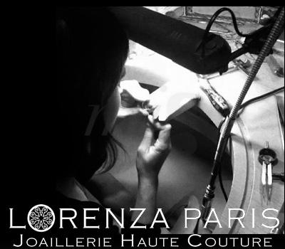 Travail Atelier Joaillerie - Lorenza Paris