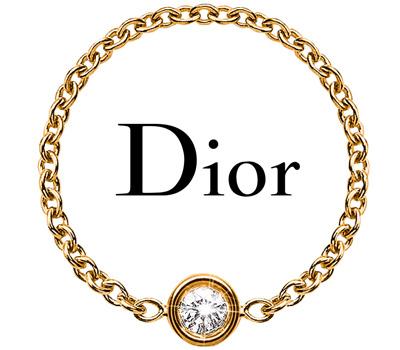 Bague chainette Mimioui de Dior joaillerie
