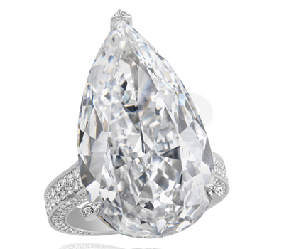 Bague Diamants Red Carpet 2012 - Chopard Joaillerie