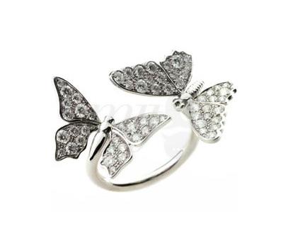 Bague Papillon Édéenne Diamants